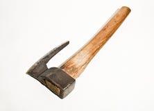 Destral que hace a mano de madera 2 del viejo vintage Foto de archivo libre de regalías