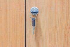 Destrave o armário chave Fotografia de Stock