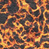 Destroy molten- nature pattern. Abstract textured. Background lava. Burning coals- crack surface. Abstract nature pattern- glow faded flame. Danger terrain stock images