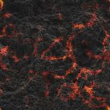 Destroy molten- nature pattern. Abstract textured. Background lava. Burning coals- crack surface. Abstract nature pattern- glow faded flame. Danger terrain stock photography
