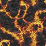 Destroy molten- nature pattern. Abstract textured. Background lava. Burning coals- crack surface. Abstract nature pattern- glow faded flame. Danger terrain Royalty Free Stock Images