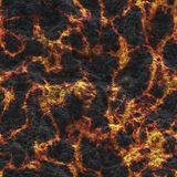 Destroy molten- nature pattern. Abstract textured. Background lava. Burning coals- crack surface. Abstract nature pattern- glow faded flame. Danger terrain stock image