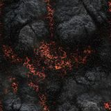Destroy molten- nature pattern. Abstract textured. Background lava. Burning coals- crack surface. Abstract nature pattern- glow faded flame. Danger terrain Stock Photo