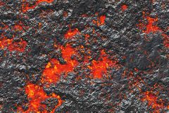 Destroy molten- nature pattern. Abstract textured. Background lava. Burning coals- crack surface. Abstract nature pattern- glow faded flame. Danger terrain- 3d vector illustration