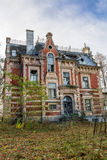Destroyed, abandoned building Royalty Free Stock Image