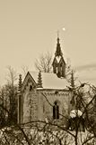 Church. Destroyed in the ancient Church Royalty Free Stock Photos
