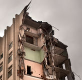 Destroyed building Royalty Free Stock Image