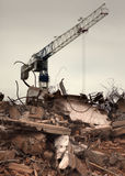 Destroyed building Stock Photography