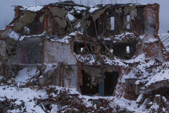 Destroyed buildingRussia Stock Image
