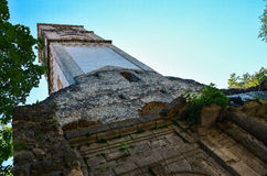 Destroyed christin church in Bihac. Bosna and Hercegovina. Old destroyed church in Bihac Royalty Free Stock Photos