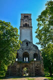 Destroyed christin church in Bihac. Bosna and Hercegovina. Old, destroyed church in Bihac Stock Images