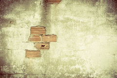 Destroyed Concrete and Brick wall Stock Photography