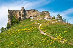 Destroyed fortress in Kudriyntsy, 17th century, Ukraine Royalty Free Stock Photos