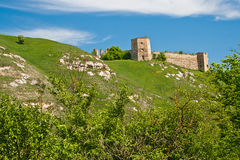 Destroyed fortress in Kudriyntsy, 17th century, Ukraine Stock Photos