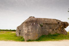 Destroyed german bunker Royalty Free Stock Photos