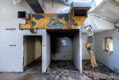 Destroyed hotel in Kupari Stock Photography