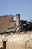 Destroyed house Royalty Free Stock Photography