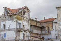 Destroyed House Stock Images
