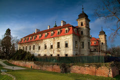 Destroyed mansion Bernolakovo Royalty Free Stock Photos