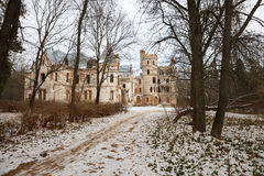 Destroyed Medieval Russia Manor Stock Photos