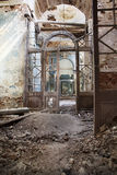 Destroyed Orthodox church Stock Photo