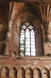 Church of Malbork Castle, Poland Royalty Free Stock Photography