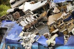 Destroyed plane Royalty Free Stock Image