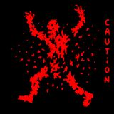 Destroyed red zombies silhouette. Vector illustration Stock Images