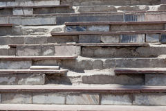 Destroyed steps Stock Photography