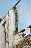 Destroyed structures Royalty Free Stock Photos