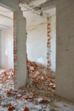 Destroyed wall Royalty Free Stock Images