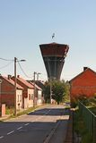 Destroyed water tower in Vukovar Stock Image
