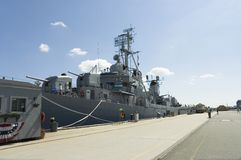 Destroyer de marine Photos stock