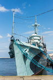 The destroyer ORP Blyskawica Royalty Free Stock Photography