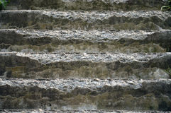 Destroys staircase with stone steps Stock Photo