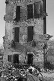 Destrozo urbano de la fábrica - fábrica abandonada VIII Fotografía de archivo