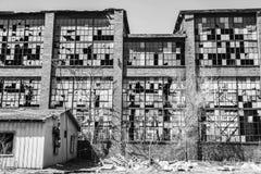 Destrozo urbano - fábrica abandonada vieja II del ferrocarril Fotografía de archivo libre de regalías