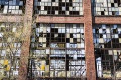 Destrozo urbano - fábrica abandonada vieja VIII del ferrocarril Fotos de archivo
