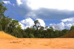 Destrucción ambiental fotografía de archivo libre de regalías