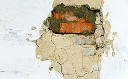 Destructed wall Stock Images