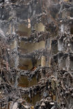 Destruction. Architecture collapse of a building Stock Images