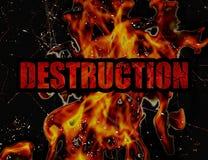 Destruction Concept Background Royalty Free Stock Photos