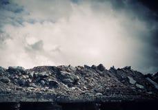 Destruction concept Stock Photo