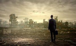 Destruction concept Stock Photography