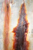 Destruction of a concrete wall Stock Image
