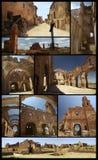 Destruction de guerre civile espagnole Image stock