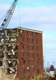 Destruction de Holiday Inn photographie stock libre de droits
