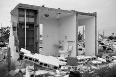 Destruction de Hurrican Harvey Photo libre de droits