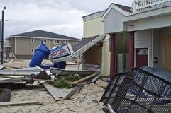 Destruction de Sandy Belmar Photo stock