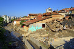 Destruction after Flood Bulgaria Stock Photography